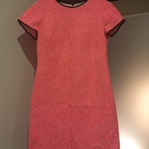 Hot pink spring Banana Republic short dress!